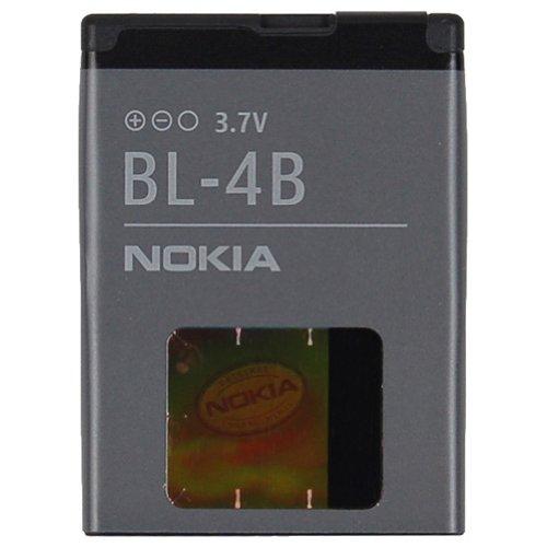 Nokia BL-4B Original-Akku für Nokia 2630, 2760, 5000, 6111, 7070 Prism, 7370, 7373, 7500 Prism, 7070 Prism, N76