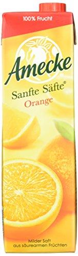 Amecke Sanfte Säfte Orange, 6er Pack (6 x 1 l)