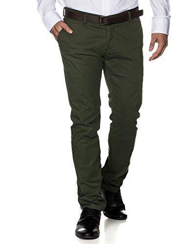 Tazzio - Pantalon - Homme Kaki