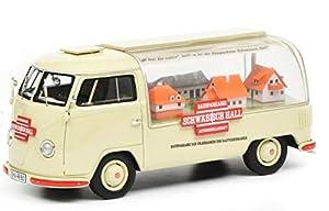 Schuco 450902300 VW T1a - Maqueta de Coche (Escala 1:43), Color Beige