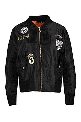 Oops Outlet Herren Baseball-kragen Streifen Langärmlig Armee Militär Schicht Biker-jacke Ma1 Bomber Jacke Khaki