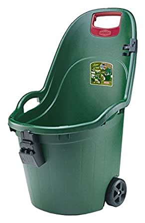 Stefanplast brouette de jardin en plastique coloris vert capacit 50 l 60 kg maximum amazon - Brouette de jardin plastique ...