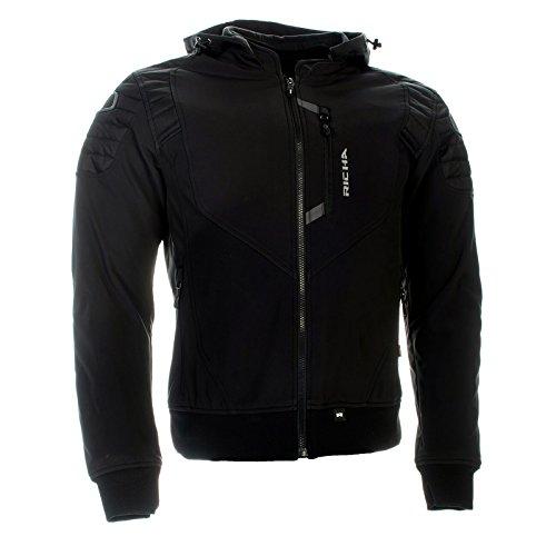 674a6532 Richa Atomic moto giacca impermeabile tessuto look casual D30 - nero