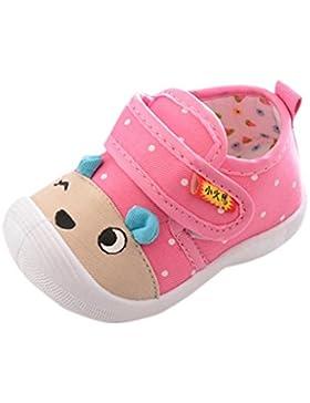 Zapatillas Malloom infantil Bebés Niños Niñas Unisex Dibujos Animados Osos Antideslizante Zapatos Suela Suave...