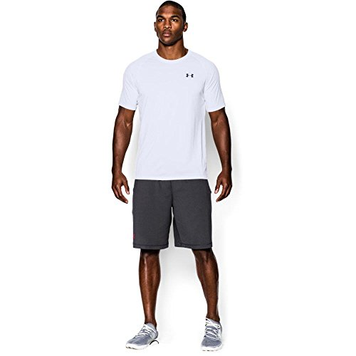 Under Armour Men's Tech Short Sleeve T-Shirt, White, X-Large