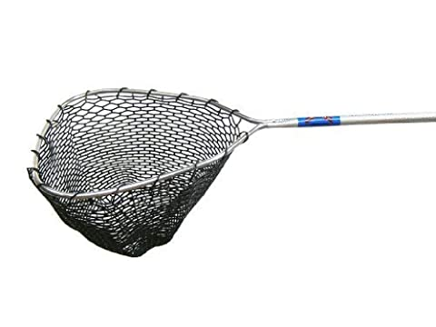 Ranger 360RL Hook-Free and Tangle Free Molded Rubber Knotless Landing Net (36-Inch Handle, 22 x 20 -Inch Hoop, 13-Inch Net Depth) by Ranger Nets