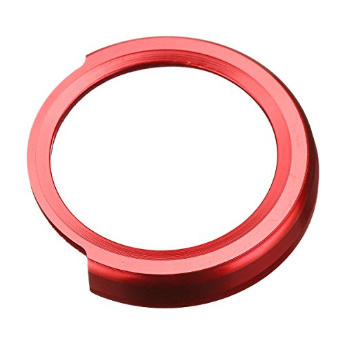 Rouge GOZAR Un Moteur De D/émarrage Bouton Stop Interrupteur Autocollant Couvercle Cercle Pour Bmw 1 2 3 4 S/érie