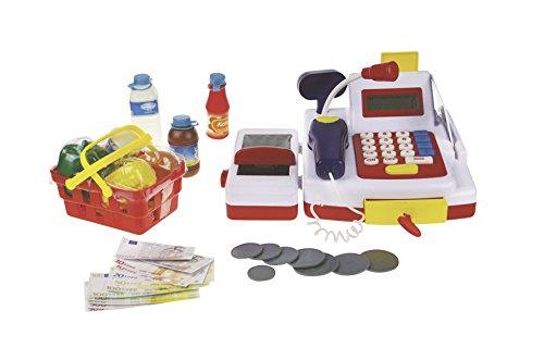 Happy People 45055 - Haushaltsspielzeug Kasse mit Rechner-Funktion