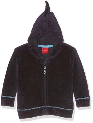 s.Oliver Baby-Jungen Kapuzenpullover Sweatshirt-Jacke, Blau (Dark Blue 5874), 80