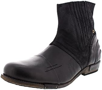 Yellow Cab Boots Chopper 16006 - Black