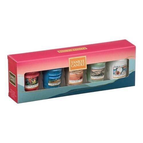 Yankee Candle zak! Lotus Vorspeiseschüsseln 4er-Set, L, Ø 18 cm, hot pop Bunt 30 -
