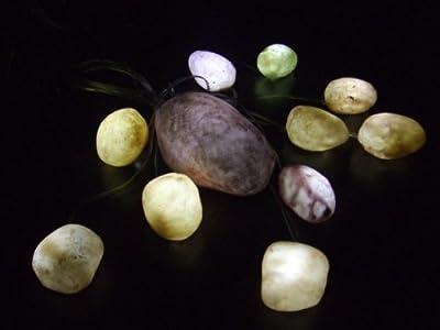 LED Leuchtsteine 11 Stück für Außen und Innen von Spetebo - Lampenhans.de