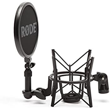 Procaster microphone mic RoXdon Metal Pop Filter for Rode Podcaster