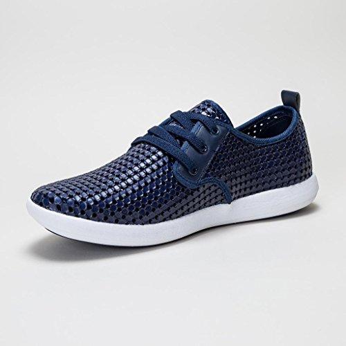 holees plimp Herren Memory Foam leicht Schlupfhalsband plimpsole Schuhe, verschiedene Farben und Größen zur Auswahl Navy