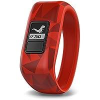 Garmin Vivofit Jr. Daily Activity Tracker for Kids - Broken Lava (Red)