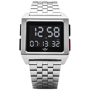 Adidas by Nixon Reloj Hombre de Digital con Correa en Acero Inoxidable