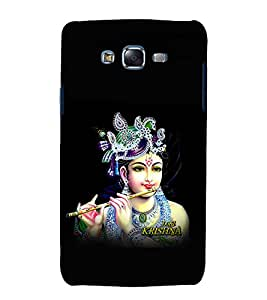 printtech Lord God Krishna Back Case Cover for Samsung Galaxy Core 2 G355H