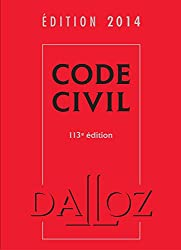 Code civil 2014 - 113e éd.