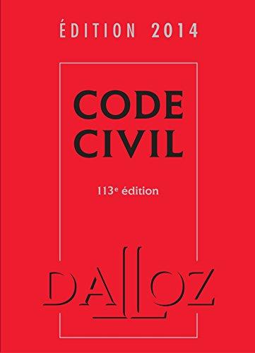 Code civil 2014 - 113e éd.