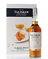 SINGLE MALT SCOTCH WHISKY 18 YEARS CLASSIC MALTS e FOOD SPECIAL PACK 4 GLASS 70 CL IN ASTUCCIO from TALISKER