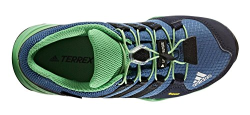 adidas Terrex Gtx K, Chaussures de Randonnée Mixte Enfant Multicolore (Core Blue/core Black/energy Green)