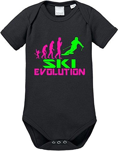 EZYshirt® Ski Evolution Baby Body Shortsleeve