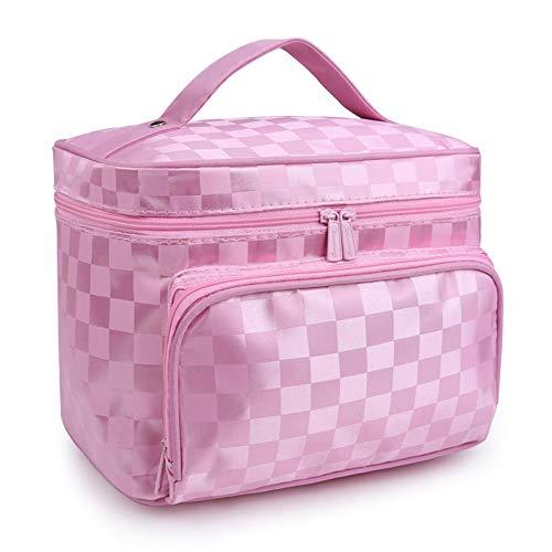 WHYSXYSN Bolsa de cosméticos de tela Oxford Bolsa de gran capacidad Bolsa  de lavado portátil Bolsa de almacenamiento de cosméticos de viaje Bolsa de