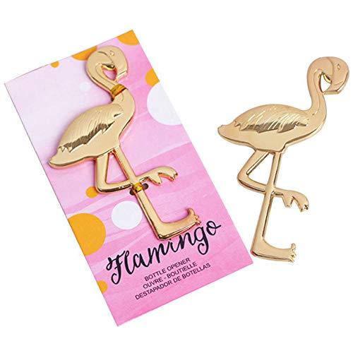 Aisoway Metall Flamingo Flasche Hochzeit Dekoration Halloween-Wein-Bier-Öffner-Hochzeit Geschenke für Gäste (Halloween Wein-flaschen-dekoration Für)