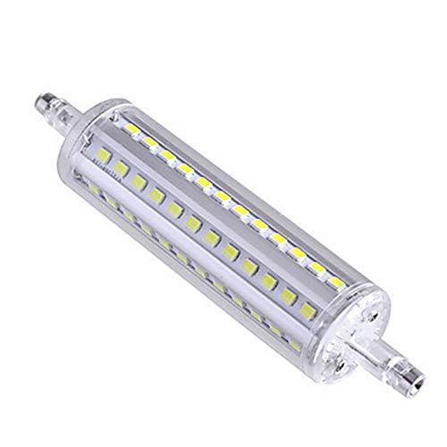 200w Halogen-flutlicht (omto T3R7s J78/J118/J135/J189LED Leuchtmittel 20W/30W Double Ended J Typ 100W/200W Halogen R7s 2835LED Flutlicht Ersatz Lampe, White 6000k, J118, R7s)