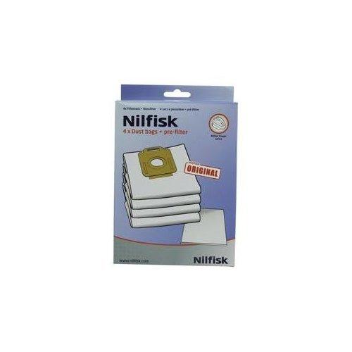 Nilfisk 1470416500 bolsas para aspiradoras con prefiltro de ahorro de energía