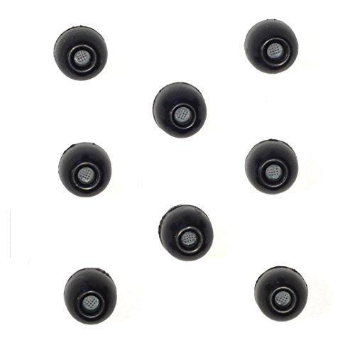 8PACK-Medium Shure EABKF1-10m (PA910M HD) Ersatz Schwarz Foam Ear Tipps Ärmel Passform Shure SE315SE115SE425SE215SE110SE315SE210SE310SE420SE425SE530SE535E3C E3G E4C E4G E5C und Westone Noise-Isolating In-Ear-Kopfhörer thumbnail