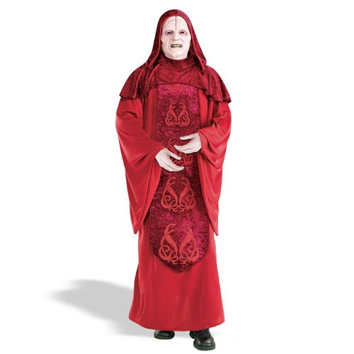 Imperator Palpatine Deluxe Herrenkostüm aus Star Wars, - Imperator Palpatine Kostüm