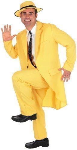 Preisvergleich Produktbild 5 teiliges Herren Sportswear 1990s die Maske Jim Carrey, Celebrity-Kostüm Outfit Medium-XL