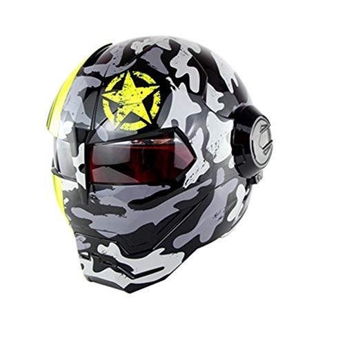 ZJRA Casco de Motocross