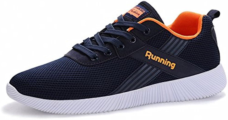 Bensorts Zapatillas de Deporte Transpirables Para Caminar, Para Hombre Zapatos ultralivianos, Cómodos, Para Correr