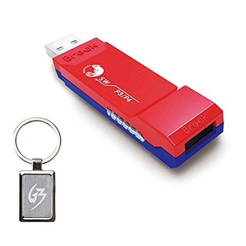 Gam3Gear Brook PS3 PS4 zu SW Nintendo Switch Super SW Controller Adapter mit Gam3Gear Schlüsselbund