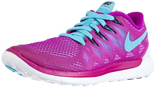 Nike Nike Free 5.0 Flash, Chaussures de running femme Violet (Fuchsia Flash/Clearwater/Fuchsia Glow)