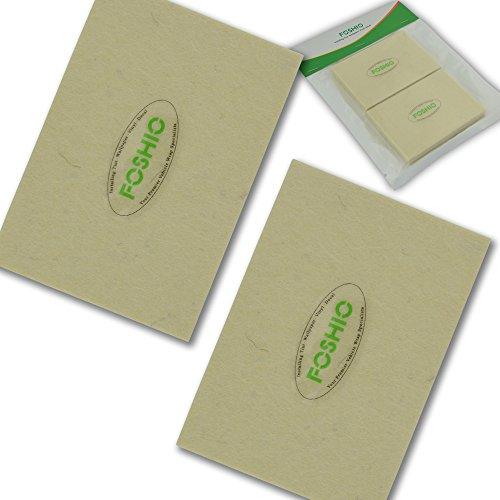 FOSHIO-bianco-morbido-feltro-Lavavetri-Automotive-vinile-Wrapping-Tool-Lana-materiale-morbido-Finestra-Pellicole-Installazione-Tool-confezione-da-2
