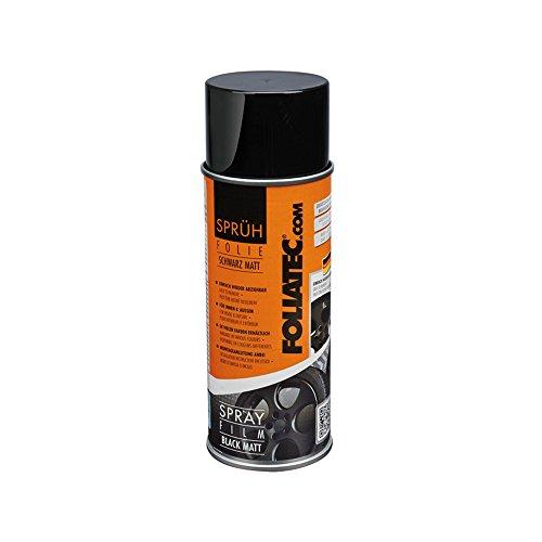 Preisvergleich Produktbild Foliatec Dose 400 ml schwarz matt