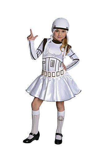 Kostüm Mädchen Stormtrooper - Stormtrooper-Kostüm für Mädchen