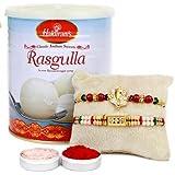 Haldiram Rakshabandhan Rasgulla Special Sweet Rakhi Combo Gift
