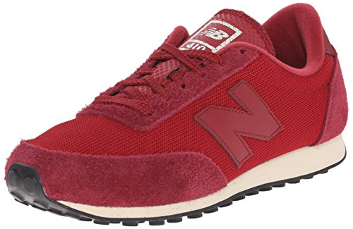 New Balance Unisex-Erwachsene U410v1 Low-Top Rot (Red)