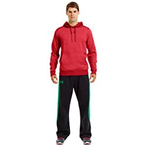 Under Armour ColdGear Charged Cotton Storm Hoody Mens Pullover[Red (1241253-600),XXL]