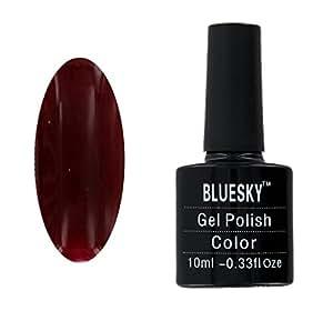 Bluesky UV Gel Soak Off Nail Polish, Red Vixen Number 80525 10 ml
