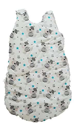 Kinder baby bett winterschlafsack kinderwagen schlummersack ganzjahres Babyschlafsack Baumwolle Kinderschlafsack Neugeborene 80 cm