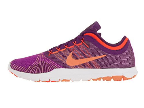 Nike Wmns Flex Adapt Tr, Chaussures de Gymnastique Femme Bleu (hyper violet / crème pêche - raisin brillant)