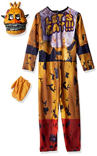 Kostüm Kinder Foxy - Five Nights At Freddy's Nightmare Chica Costume Child Medium