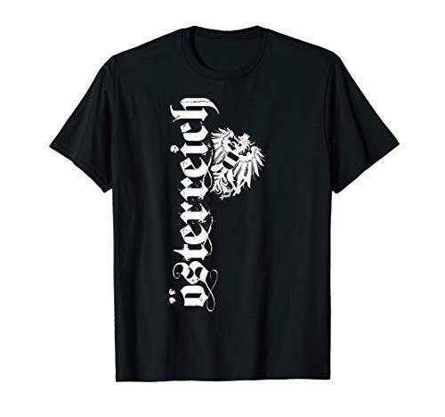Österreich T-Shirt in Retro / Vintage Design, mit Adler