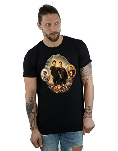 Supernatural Herren Holy Shrine T-Shirt X-Large Schwarz