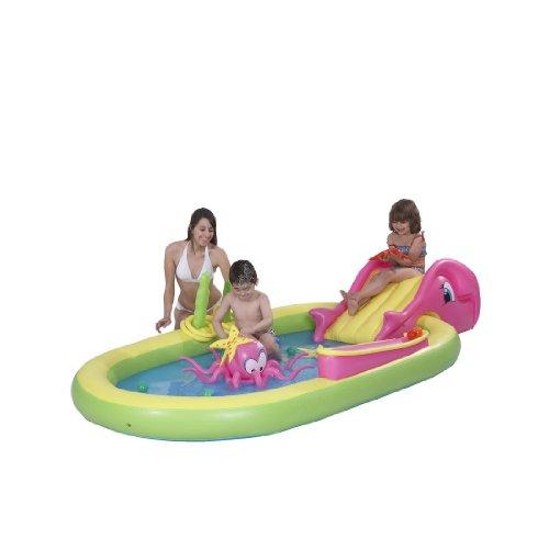 Blueborn Sea Animal Pool 298x165 Kinderpool Planschbecken für Kinder von 2-6 Jahren mit diversen Spielmöglichkeiten